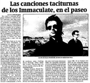 INMACULATE 1990