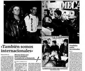 MECANO 1989