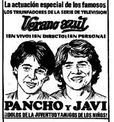 PANCHO Y JAVI 1982