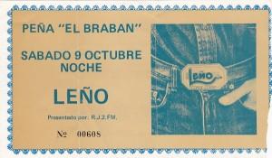 Leño - Peña El Braban